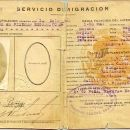 Jesus Pena's 1st Visa