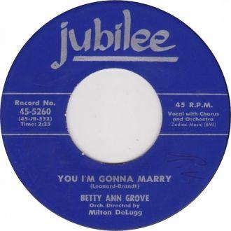Betty Ann Grove record