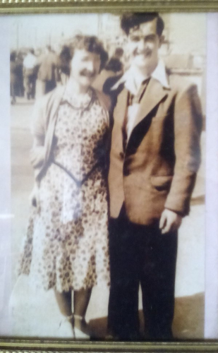 Derrick Taylor with Irene Mary Taylor