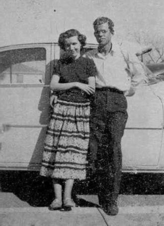 Nancy and Virgil Spencer 1952