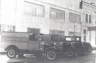 A. Braunger Produce Co. Trucks