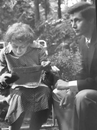 Margaret Hamilton and Steve Randisi