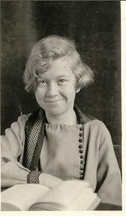 Madelyn Frances Kerr, freshman, age about 12