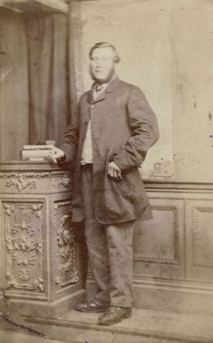 Mystery Family Member from England
