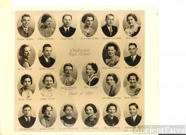 1935 Lockwood High School, 1935