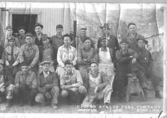 Coal Miners - King Mine, Hiawatha Utah 1942