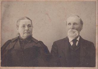 Rosanna and Elias Plank, 1870