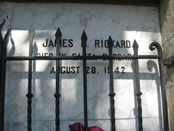 James Bicke Rickard Headstone