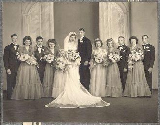 Marie Wojtkiewicz & Anthony Banas Jr Wedding Photo