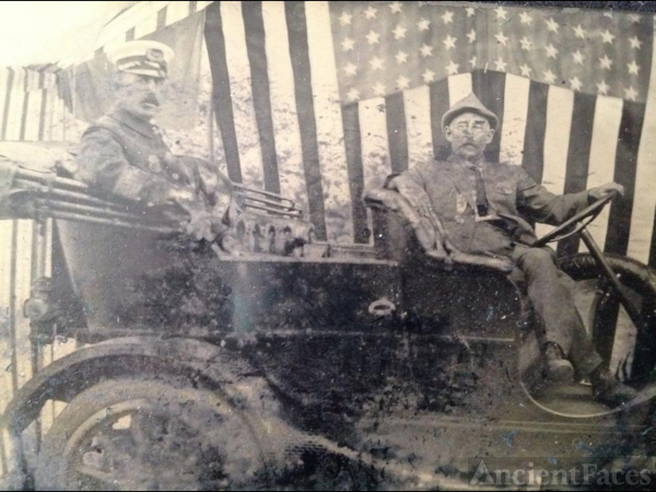 Napoleon E. Laravie, parade