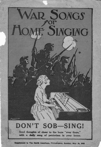 World War I songbook
