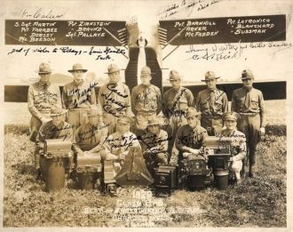 Sgt Pallaye and Crew