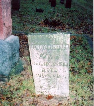 Henry H. Boyer gravestone
