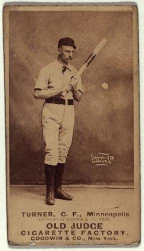 George Turner 1888 Baseball Card