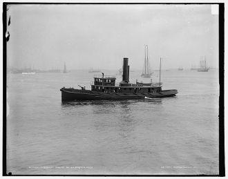Fireboat, Engine No. 44, Boston, Mass.