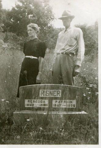 Minnie Lou (Risner) & Douglas Adams