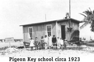 Pigeon Key Class photo 1923