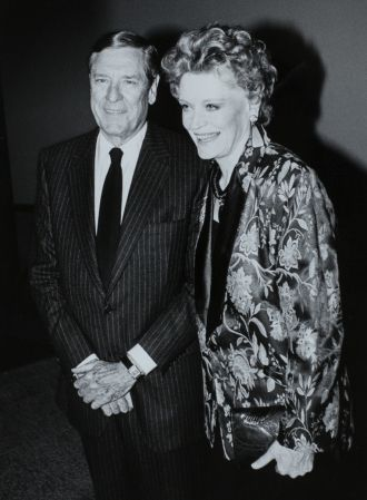 Alexis Smith and Craig Stevens