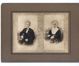 Unknown elderly couple
