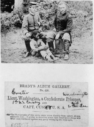 George Custer & Lt. Washington