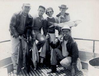 Fishing Trip, 1954 California