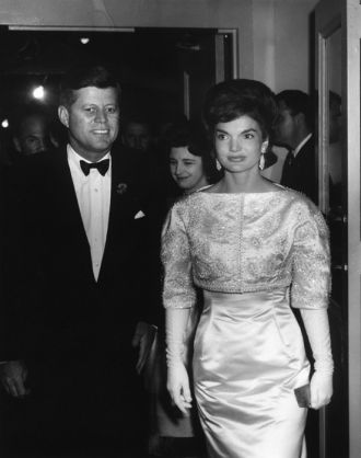 Jack and Jackie Kennedy, 1961