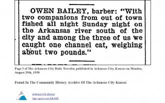 Owen Bailey, barber