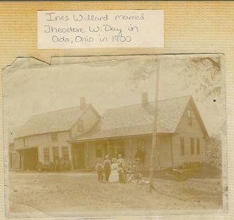 Ines Willard Day & Theodore Wesley Day on family farm
