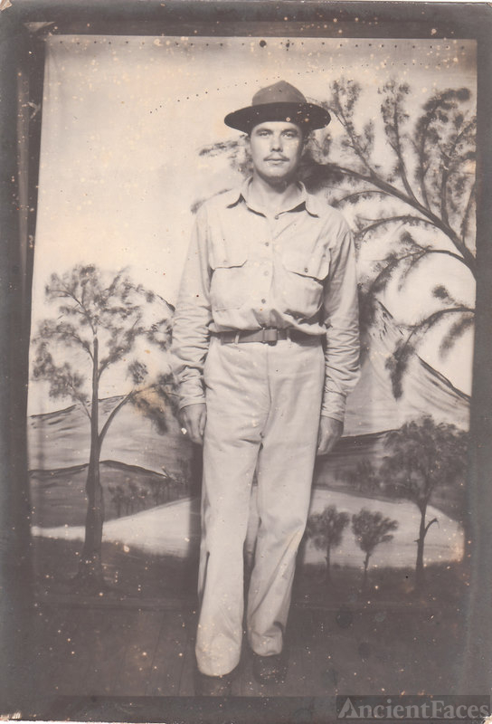 Marion in Army Uniform