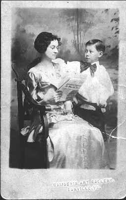 Berta and Julian Irby, Virginia 1911