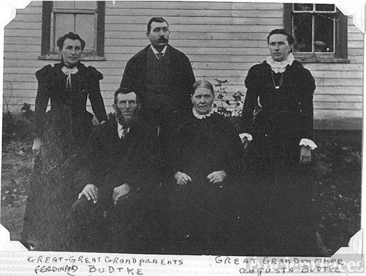 Ferdinand Budtke-family