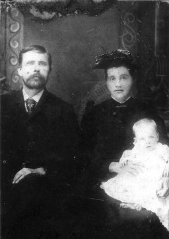John Pressley Windle, Virginia, and Baby Lucinda