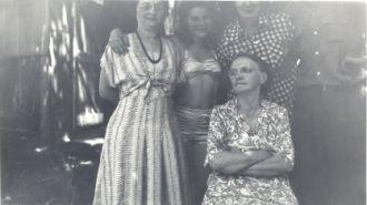 Ida Short, Anna Carr, and Carole Nelson
