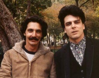 Dean D'Alescio and Joe Nania 1987 NYC