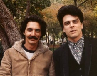 Dean D'Alescio and Joe Nania 1987 NYC