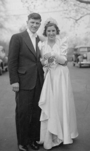 Mr & Mrs Frank Norkus