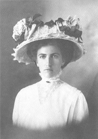 Lucretia Metz, Illinois circa 1912