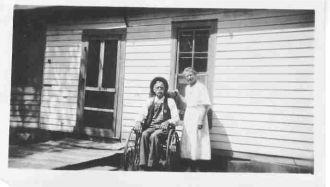 Jim Baze & sister