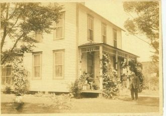 The Arkansas Home of Homer Sheeks & Kate (Stephens)