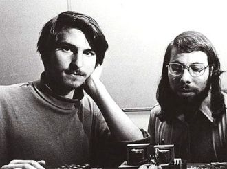 Steve Jobs and Steve Wozniak, Apple Founders