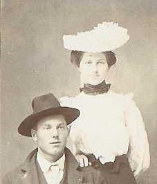 A photo of Cora Elizabeth (Amelang) Evans