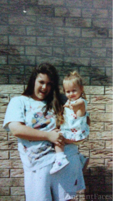 Shannon and oldest daughter brittany