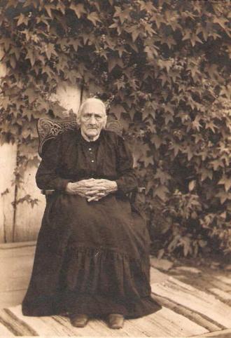 My Great Great Grandmother Catherine Haun or Hahn Mowery or Mowrer b. 1822-1915 Ohio