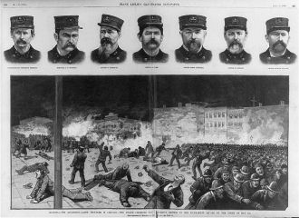 Illinois - The anarchist-labor troubles in Chicago The...