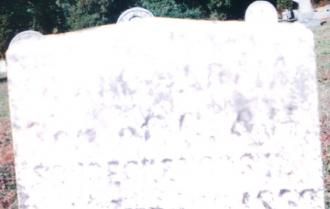 Issac Adam Schrecengost Gravesite