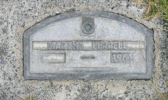 Martha Caldona (Gary) Ferrell gravesite