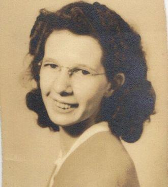 Unknown Burkhart woman, Tennessee