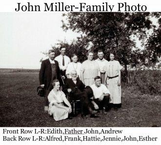 John Miller and Family