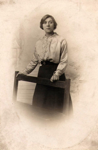 Nora (Leveson) Blumberg (Front)