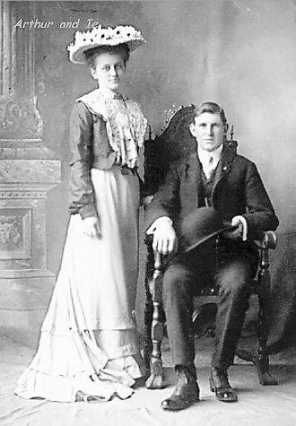 Marriage of Arthur Wilkey and Dora Winter